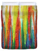 Colorful Grace Duvet Cover