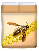 Colorful Hymenop 4 Duvet Cover