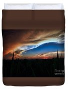 Kansas - Land Of Beautiful Sunsets Duvet Cover