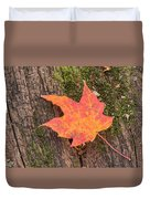 Colorful Leaf Duvet Cover