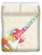 Colorful Les Paul Duvet Cover