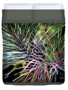 Colorful Lines Duvet Cover