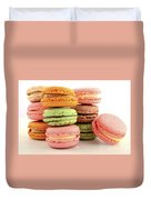 Colorful Macaroons Duvet Cover