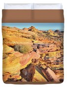 Colorful Morning At Valley Of Fire Duvet Cover