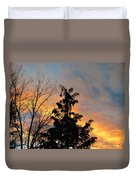 Colorful Nightfall Duvet Cover