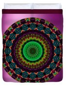 Colorful No. 4 Mandala Duvet Cover