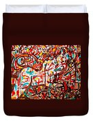 Colorful Nude 1 Duvet Cover