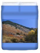 Colorful Orient Canyon - Rio Grande National Forest Duvet Cover
