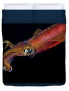 Colorful Oval Squid Duvet Cover by Dave Fleetham - Printscapes