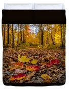 Colorful Path Duvet Cover