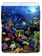 Colorful Reef Duvet Cover