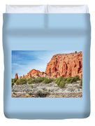 Colorful Rock Formations In Kodachrome Basin State Park, Utah Duvet Cover