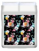 Colorful Roses Duvet Cover