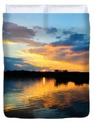 Colorful Serenity Duvet Cover