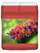 Colorful Snapdragon Duvet Cover