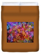 Colorful Spring Garden Duvet Cover