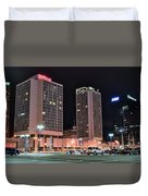 Colorful St Louis Night Duvet Cover