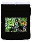 Colorful Stump Duvet Cover