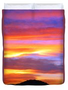 Colorful Sunset Duvet Cover
