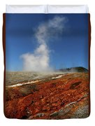 Colorful Thermal Area  Duvet Cover