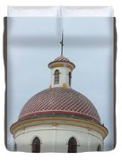 Colorful Tiles On A Church Dome Duvet Cover