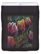 Colorful Tulips Duvet Cover