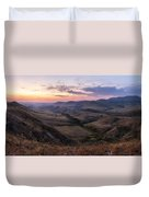 Colorful Valley Duvet Cover