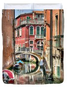 Colorful Venice  Duvet Cover