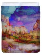 Colorful Vista Duvet Cover