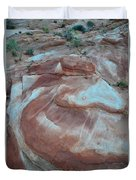 Colorful Wash 2 Of Valley Of Fire Duvet Cover