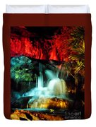 Colorful Waterfall Duvet Cover