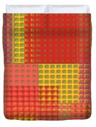 Colorful Weave Duvet Cover