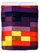 Colorfully Blocked Walls Duvet Cover