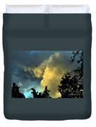 Coloring Clouds Duvet Cover