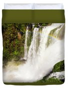Colors Above The Water Duvet Cover