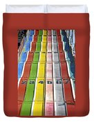Colors Are A Photographers Life Duvet Cover