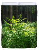 Colors Of A Forest In Vogelsberg Duvet Cover