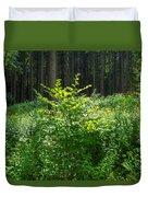 Colors Of A Forest In Vogelsberg Duvet Cover