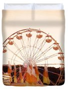 Colors Of August Duvet Cover