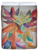 Colors Of Autumn Duvet Cover