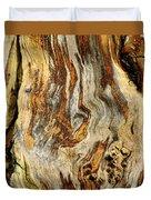 Colors Of Bark Duvet Cover