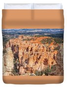 Colors Of Bryce Duvet Cover