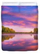 Colors Of Chatfield Duvet Cover