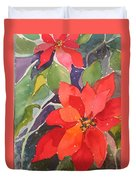 Colors Of Christmas Duvet Cover