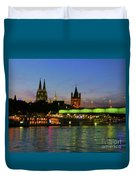 Colors Of Cologne Duvet Cover