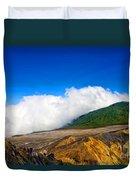 Colors Of Costa Rica Duvet Cover
