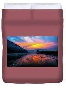 Colors Of Dawn Duvet Cover