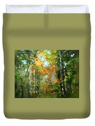 Colors Of Early Fall  Duvet Cover