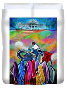 Colors Of Rajasthan Duvet Cover