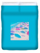 Colors Of The Beach Duvet Cover